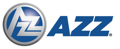 AZZ Inc. is a global provider of metal coatings services, welding solutions, specialty electrical equipment and highly engineered services. (PRNewsfoto/AZZ Inc.)