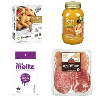 Some of the finalist product samples (CNW Group/Retail Council of Canada)