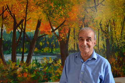 Lio Faridani, the 79-year-old internationally celebrated artist, shares his success with NFT sales of his original masterpieces but with a twist. (CNW Group/ContemporaryArts.ca)