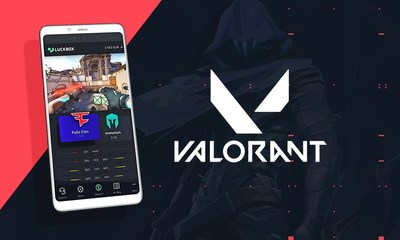 Esports fans can bet on VALORANT at Luckbox (CNW Group/Real Luck Group Ltd.)