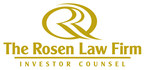 ROSEN, SKILLED INVESTOR COUNSEL, Encourages AgEagle Aerial Systems, Inc. Investors to Secure Counsel Before Important April 27 Deadline in Securities Class Action – UAVS