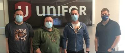 Unifor Local 39-11 Thunder Bay Paramedics bargaining commitee (CNW Group/Unifor)