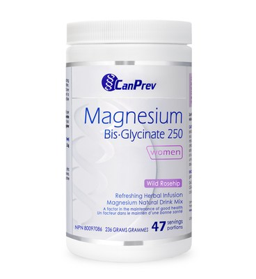 Magnesium Bis-Glycinate Powder 250 (Rose Hip Dragonfruit) (CNW Group/Health Canada)