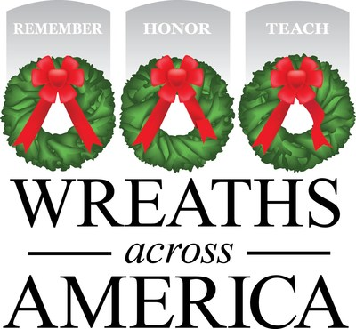Visit www.wreathsacrossamerica.org to find a participating location near you or to sponsor a wreath. (PRNewsfoto/Wreaths Across America)