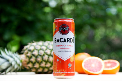 BACARDÍ Real Rum Canned Cocktails Expand Range With Three New Flavors - Bahama Mama, Mojito, and Sunset Punch (Exclusive to New Variety Pack)