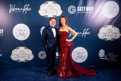 The merger puts Gateway's Chairman and Vice Chair, Richard J Stephenson and Dr. Stacie J. Stephenson, respectively, at the helm of the Phoenix-based Celebrity Fight Night organization. Photo credit: Bob & Dawn Davis Photography & Design