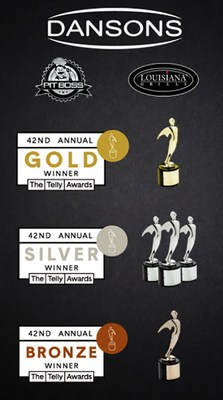 Dansons was recognized with five 2021 Telly Awards, including one Gold.