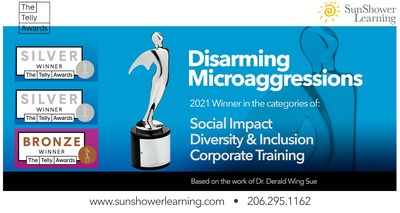 Disarming Microaggressions new elearning course released today. www.sunshowerlearning.com