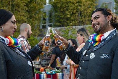 Estrella Jalisco partners with world's first LGBTQ+ mariachi band, Mariachi Arcoiris de Los Angeles, to bring free performances to families. Enter for a chance to book the band by commenting on Estrella Jalisco's social post with a song that needs a mariachi cover.
