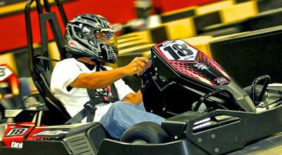 RPM Raceway indoor electric go-karts in Jersey City.
