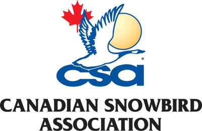Canadian Snowbird Association Logo (CNW Group/Canadian Snowbird Association)