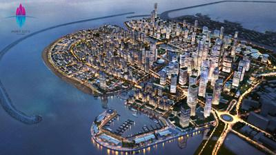 Port City Colombo, a multi-services Special Economic Zone in Sri Lanka.