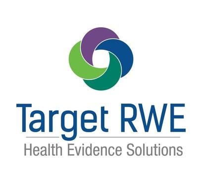 Target RWE Health Evidence Solutions logo (PRNewsfoto/Target RWE)