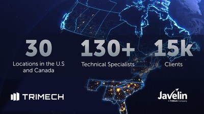 TriMech and Javelin Technologies are now one team, expanding 3D design and 3D printing support for designers, engineers, and manufacturers across Canada and the central and eastern United States. Going forward, Javelin will operate as TriMech's Canadian business, referred to as Javelin Technologies, a TriMech Company.