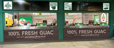 AvoEats by AFM at Fenway Park is the newest concession stand opened by Avocados From Mexico, joining avocado-focused concessions in Dallas, Miami, New York and Milwaukee.