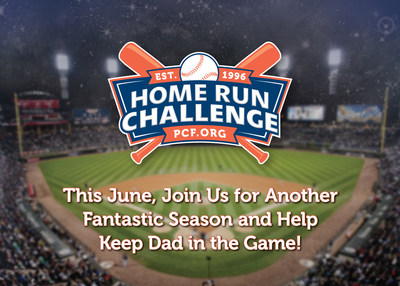 Help to Keep Dad in the Game, by participating in the 25th annual Home Run Challenge, visit homerunchallenge.org to learn more