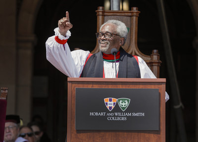 The Most Rev. Michael B. Curry, Presiding Bishop and Primate of the Episcopal Church at Hobart and William Smith Colleges
