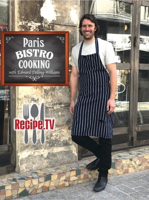 """Emmy-nominated chef (for """"Outstanding Culinary Host"""" 2021) Edward Delling-Williams is one of many international chefs featured on ALLEN MEDIA GROUP's television network RECIPE.TV (Image credit: Lisa-Renee Ramirez/Allen Media Group)"""