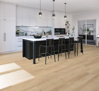 CALI is the designer and manufacturer of highly successful lines of waterproof luxury vinyl plank flooring including Cali Vinyl Longboards, seen here in Sandbar Oak.