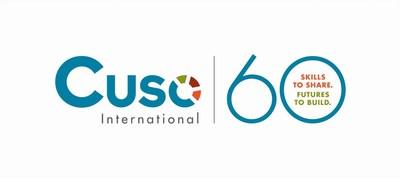 60th Anniversary Logo (CNW Group/Cuso International)