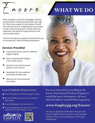 Encore Experienced Workers Program
