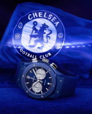 Hublot Classic Fusion Chronograph Chelsea FC (PRNewsfoto/Hublot SA)