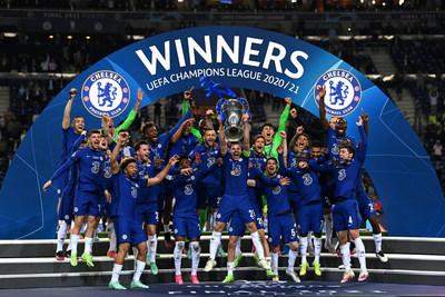 Getty Images: Chelsea FC wins the UEFA Champions League 2021 (PRNewsfoto/Hublot SA)
