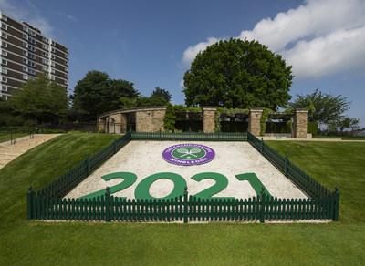 Wimbledon Sign 2021 (PRNewsFoto/IBM)