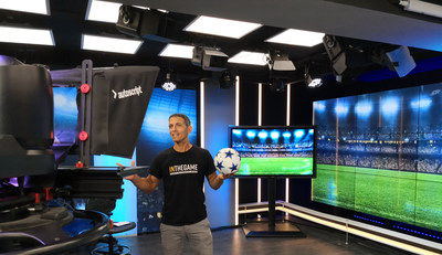 Inthegame's new interactive format in the Euro 2020 studio