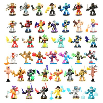The World of Akedo ̶ Ultimate Arcade Warriors from Moose Toys delivers a knockout punch as the first brand to combine realistic battling action figures at a micro collectible scale. Derived from the Japanese word for arcade, Akedo has a retro gaming look and 39 unique warriors, including ninjas, robots, gladiators and Vikings, alongside teddy bears, a dinosaur and clowns. Each Akedo has an individual battling style and attached accessory.