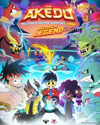 Ahead of the July launch of new Akedo ̶ Ultimate Arcade Warriors, the trailer for Moose Toys and Wildbrain Spark's co-produced dynamic new animated series dropped today. The series brings to life the world of Akedo following three players as they battle with epic Arcade Warriors in an immersive virtual reality video game. A mini movie will premiere on July 2 and full episodes will roll out shortly thereafter on MooseTube Mania YouTube channel and on Amazon Prime Video Direct.