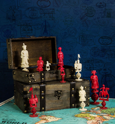 Pawns & Passports: Chess Sets from Around the Globe will be open to the public at the World Chess Hall of Fame until January 30, 2022.