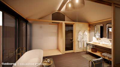 In looking to the future, Outdoorsy and Collective Retreats will build out additional accommodation offerings around the country. The first of these new experiences, expected to launch later this year, is a new concept accommodation that will allow Outdoorsy users to stay overnight in their recreational vehicle in exclusive areas of existing Collective Retreats locations while enjoying all of the luxurious amenities offered at each location. This new concept will offer a seamless outdoor extensi