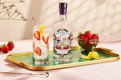 Sipsmith Strawberry Smash Wimbledon Collins