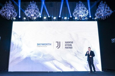 Leo Tang, Chief Brand Officer of SKYWORTH TV at the Press Conference
