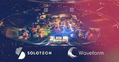 Solotech - Waveform (CNW Group/Solotech Inc.)