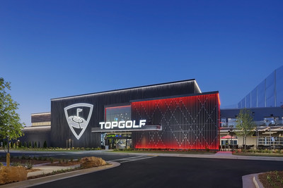 The future venue in North Charleston will be a similar design as Topgolf Buford (Georgia), which is featured in this photo.