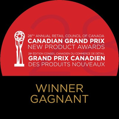 Canadian Grand Prix New Product Award Winner logo (CNW Group/Retail Council of Canada)