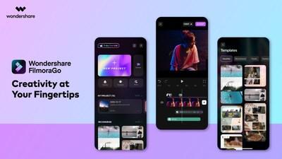 Wondershare FilmoraGo iOS 6.0 Version: Creativity at Your Fingertips