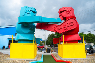 World's First Toy-Themed Mini Golf Opens in Pigeon Forge, TN