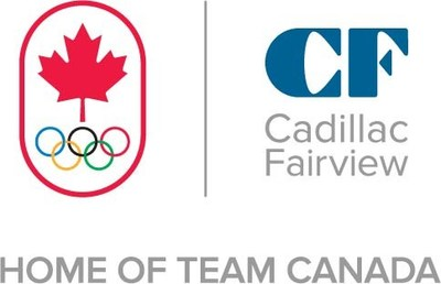 Cadillac Fairview, the official Home of Team Canada, is igniting the spirit of the Tokyo 2020 Olympic Games through acts of hope, optimism and togetherness (CNW Group/Cadillac Fairview Corporation Limited)