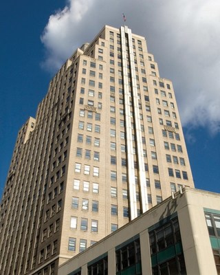 1350 Broadway, location of Rizzo Group/CodeGreen's new office space.