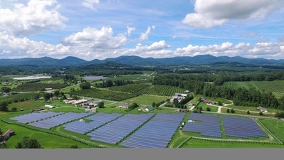 3MW solar project in North Carolina owned and operated by Cypress Creek