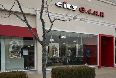 City Gear store exterior. Credit: Hibbett Inc. (PRNewsfoto/Hibbett Inc.)