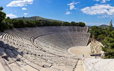 Ancient Theater of Epidaurus (PRNewsfoto/Marketing Greece)